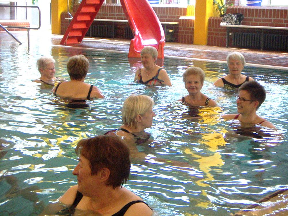 Wassergymnastik-Wassertherapie-Walsrode